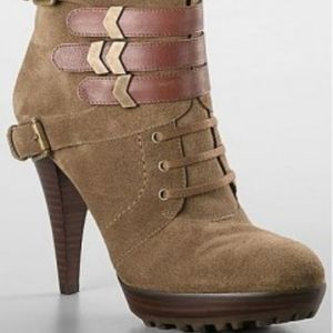 Nine West Donley Stacked Bootie